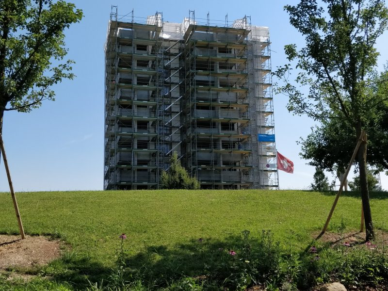 Fassadensanierung und Balkonerweiterung Rotkreuz