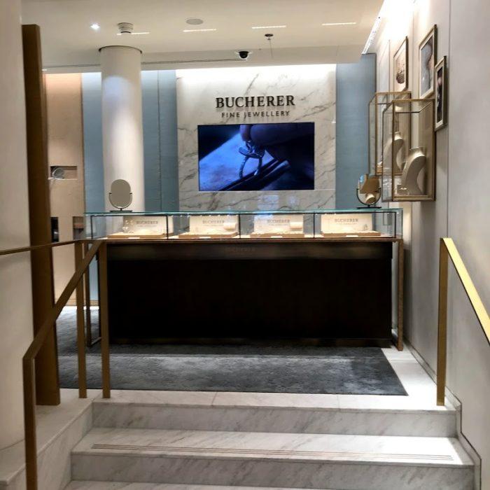 Natursteinarbeiten Bucherer Zürich Flughafen