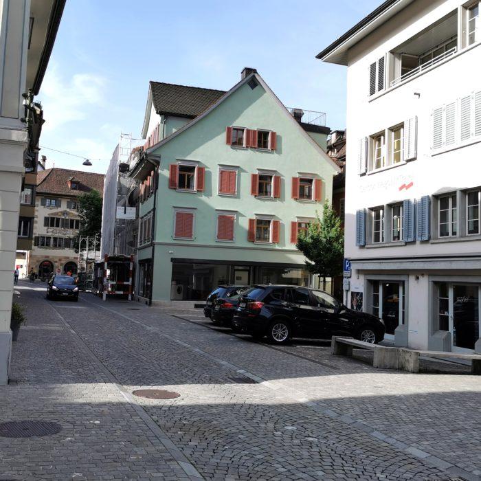 Umbau & Restaurierung Zeughausgasse 6, Zug