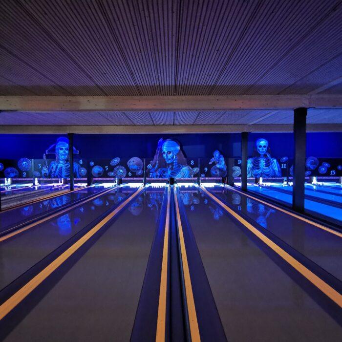 1. Etappe neu Konzeptionierung und Auffrischung Funbowl, Bowlingcenter Affoltern a. A.